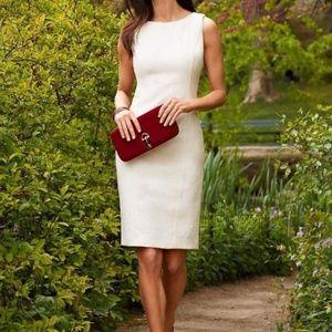 Talbots textured sheath style dress